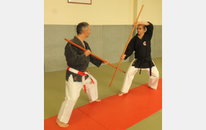 Initiation Kobudo au club ...